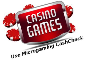 CashCheck Guide for Microgaming Bonus
